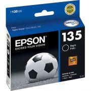 Cartucho de Tinta Epson T135120 Preto T25 TX123 125 133 135