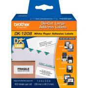 Etiqueta Brother DK-1208 Pré-Cortada 38x90mm