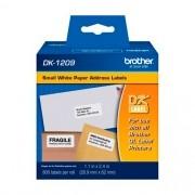 Etiqueta Brother DK-1209 Pré-Cortada 29x62mm