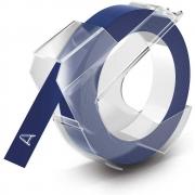 Fita para rotulador manual Dymo 9mm x 3,6m Azul