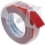 Fita Rotulador Manual Dymo 9mm 3,6m Vermelha 520102