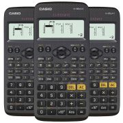 Kit 3 Unidades Calculadora Científica Casio FX82LAX Preta