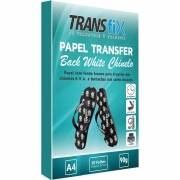 Papel Transfer Transfix 90g Chinelo Back White A4 50 folhas