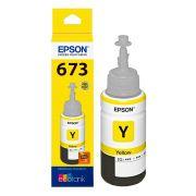 Refil de Tinta Amarelo Epson T673420 L800 L1800