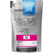 Tinta Sublimática Epson T46C Magenta Ultrachrome DS F6370 F9470
