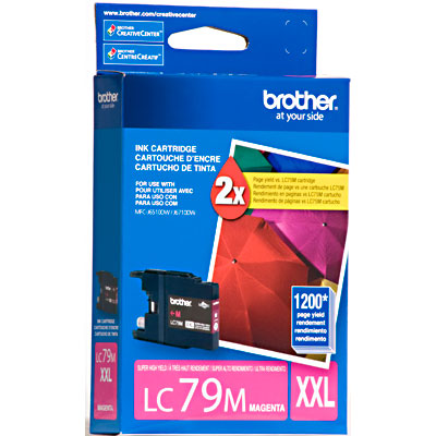 Cartucho de Tinta Brother LC-79M Magenta MFCJ6510