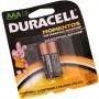 Pilha Alcalina Duracell AAA - Pacote com 2un - SVC LASER