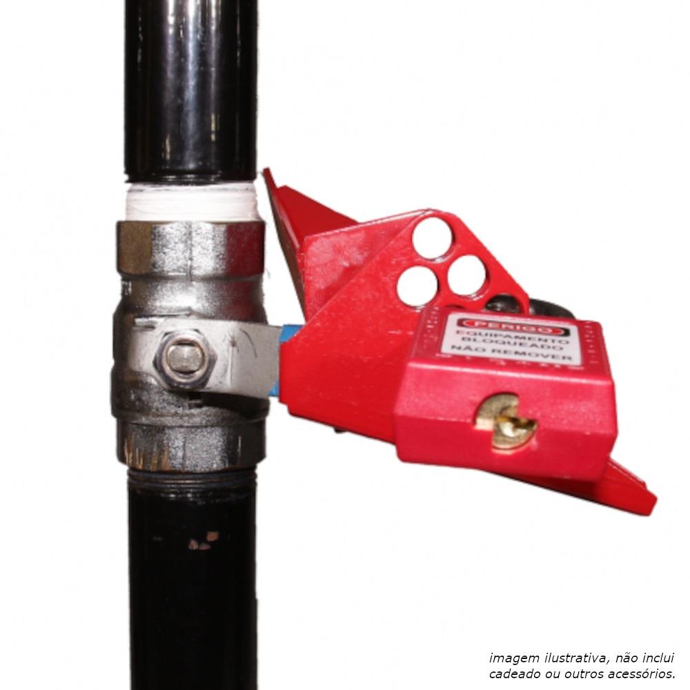 Bloqueio para Válvula Esférica Brady 65693 de 1,25 até 3pol 7 furos