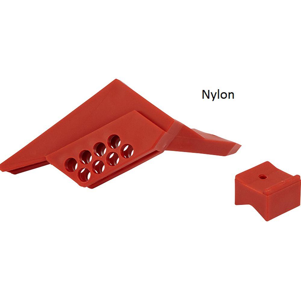 Bloqueio de Válvula Esférica Brady 65666 em Nylon