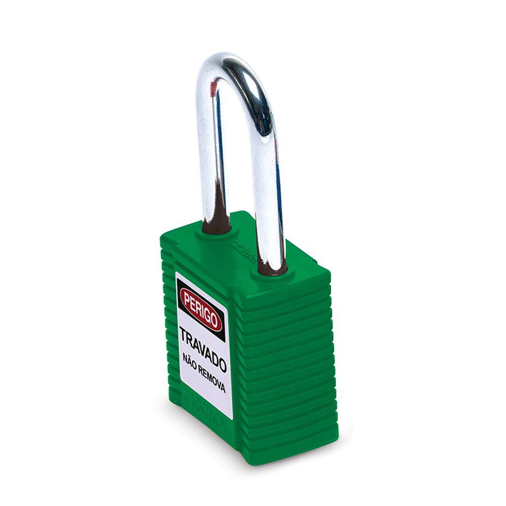 Cadeado Brady Express Verde Corpo em Plástico 77564