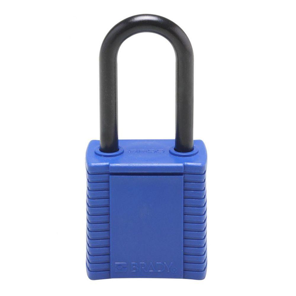 Cadeado Brady Azul Haste e Corpo em Plástico 78667