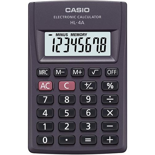 Calculadora Ultraportátil Casio HL-4A