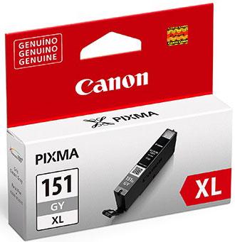 Cartucho de Tinta Canon CLI-151GY XL Cinza MG6310 iP7110