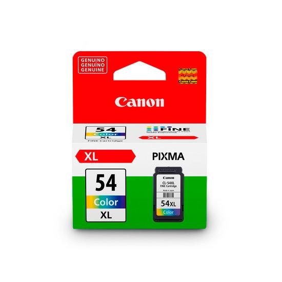 Cartucho de Tinta Canon Colorido CL-54XL p/E401 E461 E481
