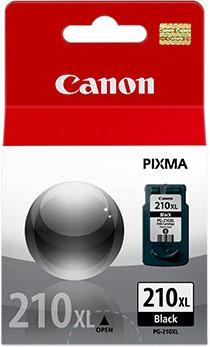 Cartucho de Tinta Canon PG-210XL Preto Alto Rendimento