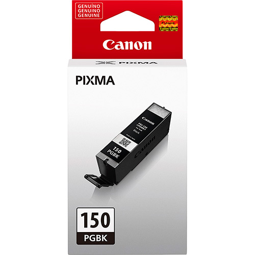 Cartucho de Tinta Canon PGI-150BK p/ MG6310 MG5410