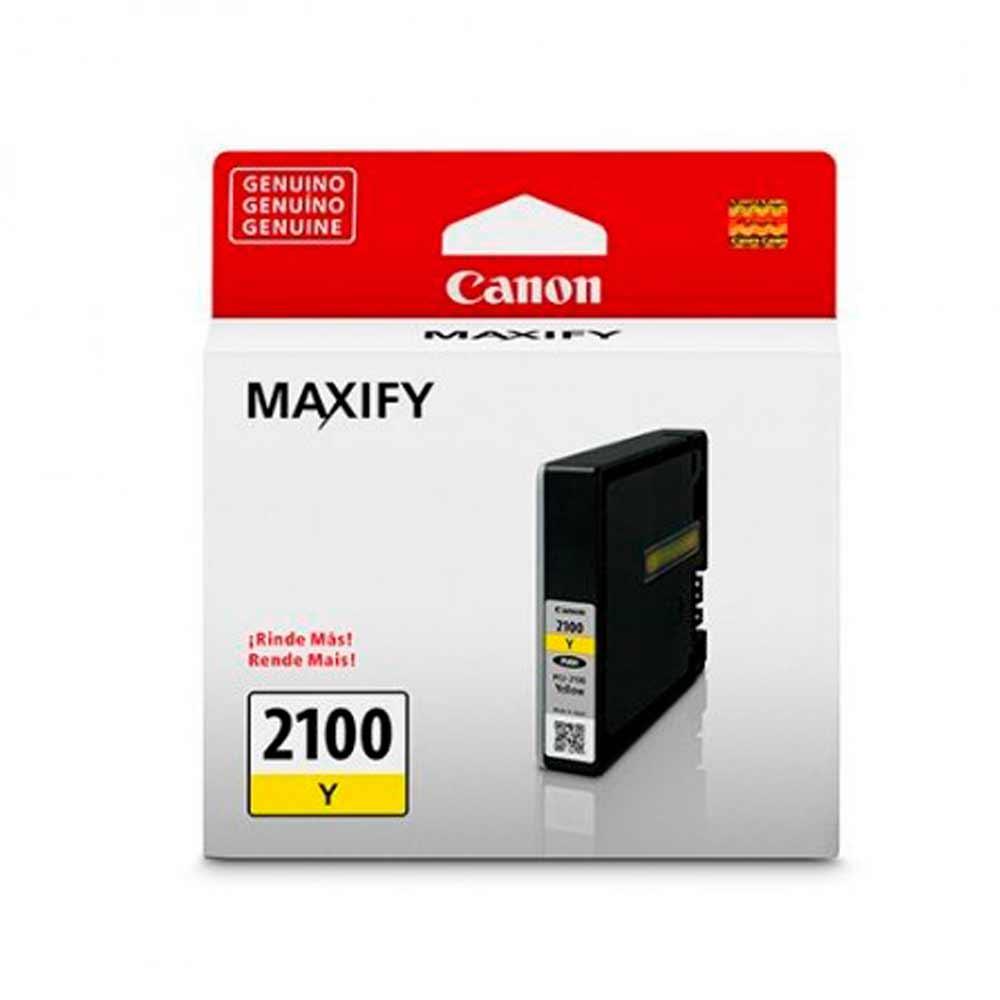 Cartucho de Tinta Canon PGI-2100Y Amarelo MB5310