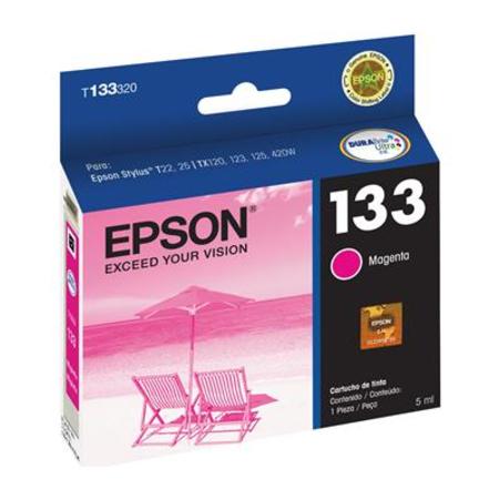 Cartucho de Tinta Epson T133320 Magenta T25 TX123 235W 420W 430W