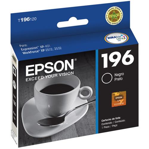 Cartucho de Tinta Epson T196120 Preto