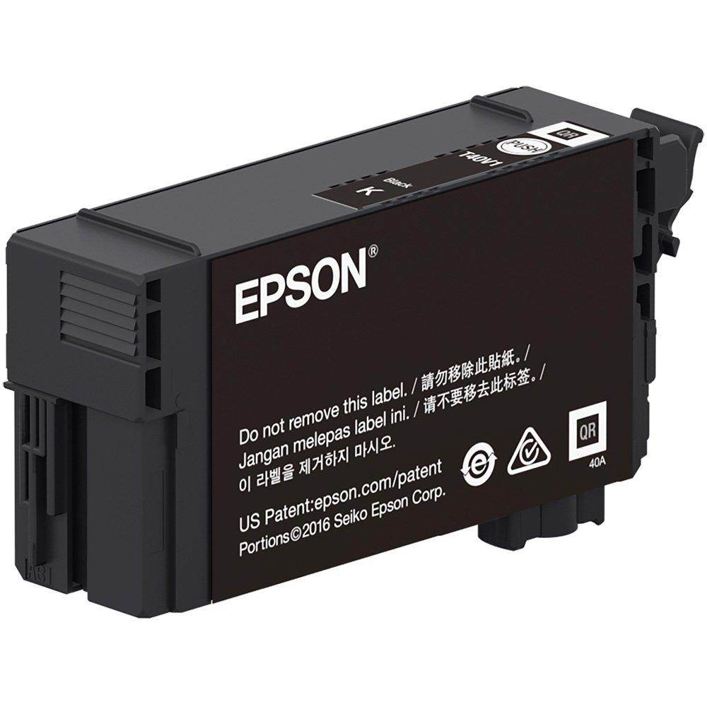 Cartucho de Tinta Epson T40V120 Preto 50ml Para T3170 T5170