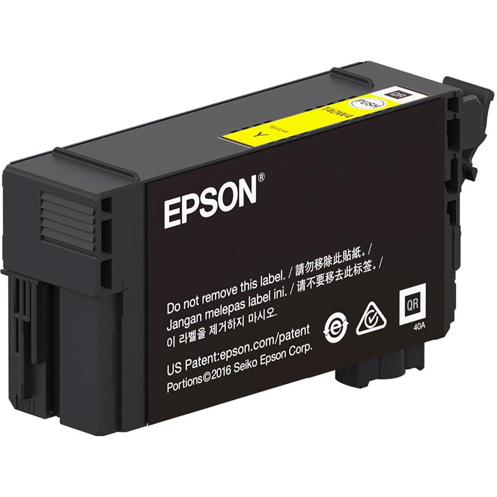 Cartucho de Tinta Epson T40W420 Amarelo 50ml Para T3170 T5170