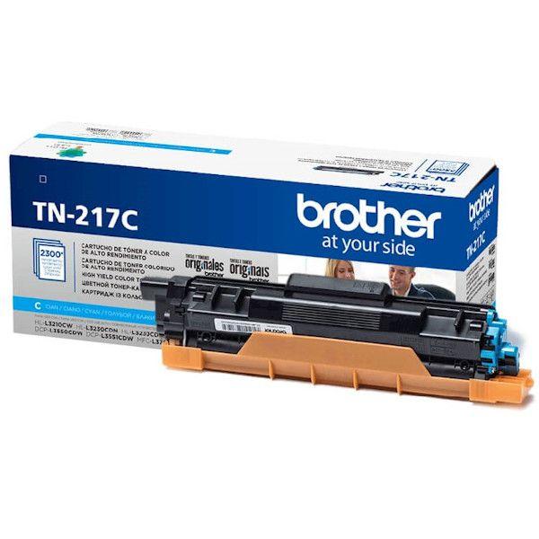 Cartucho de Toner Brother TN-217C Ciano