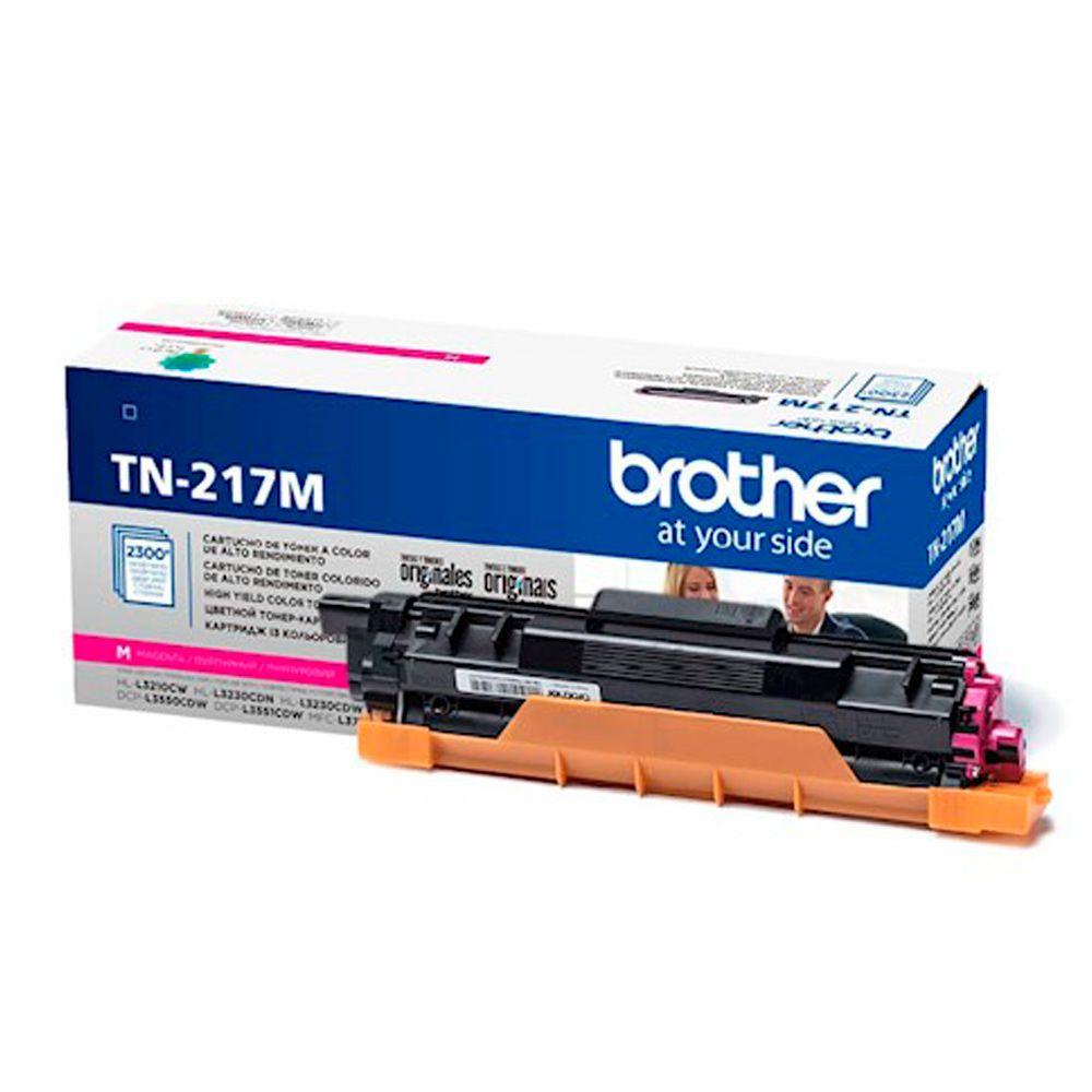 Cartucho de Toner Brother TN-217M Magenta