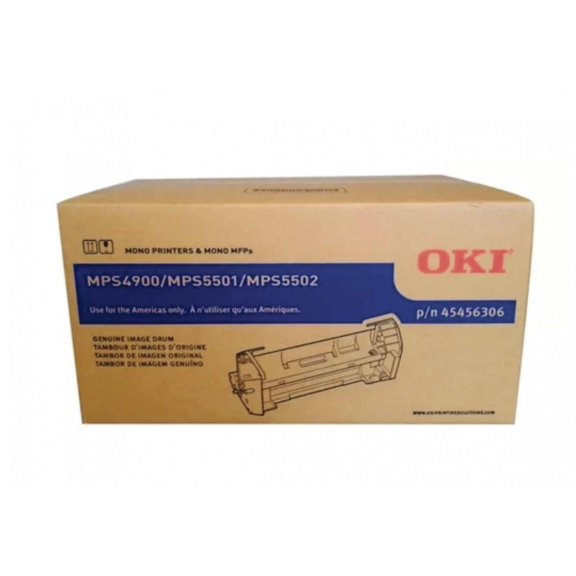Cilindro de Imagem Oki MPS5501 MPS5502MB 45456301