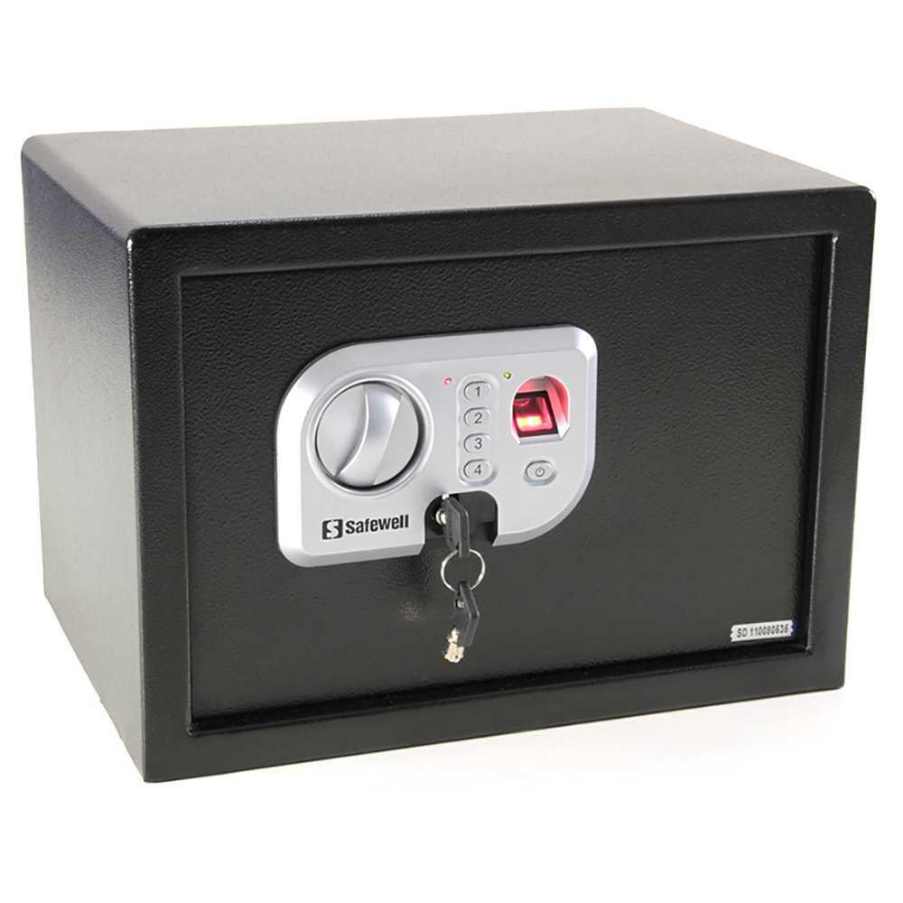 Cofre Eletrônico Safewell 25FPN Com Impressão Digital