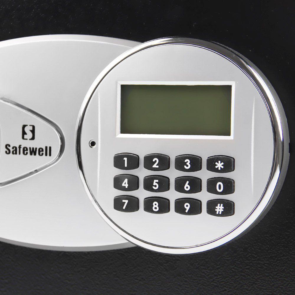 Cofre Eletrônico Safewell 25EID Tela LCD Cód Numérico