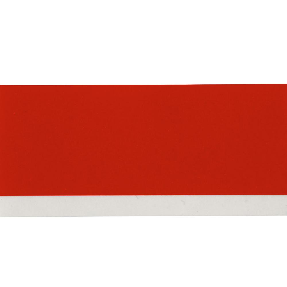 Fita Brady 12mm de Vinil Branco/Vermelho M21-500-595-RD BMP21