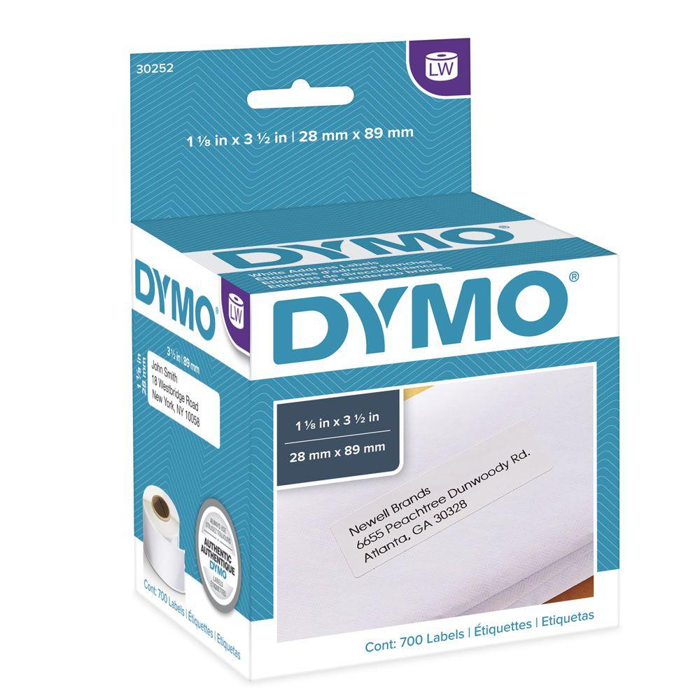 Etiqueta Dymo 30252 Labelwriter 28x89mm