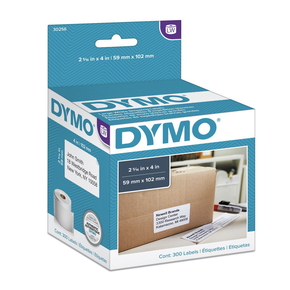 Etiqueta Dymo 30256 Labelwriter 59x102mm