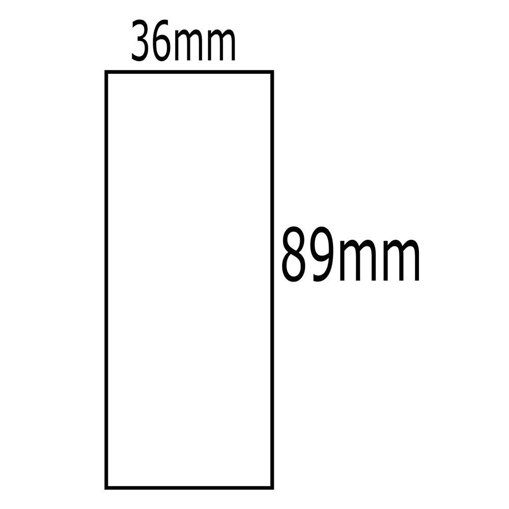Etiqueta Dymo 30321  LabelWriter 36x89mm