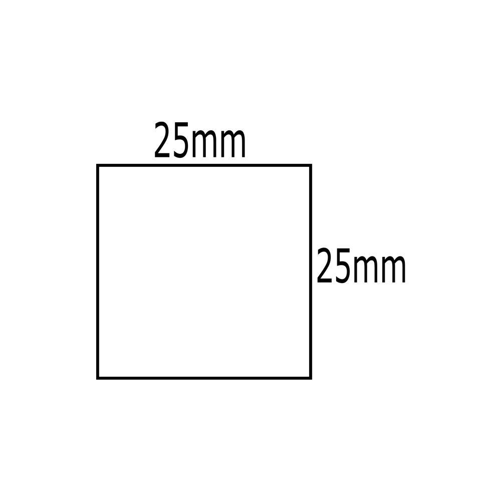 Etiqueta Dymo 30332 Labelwriter Quadrada 25x25mm