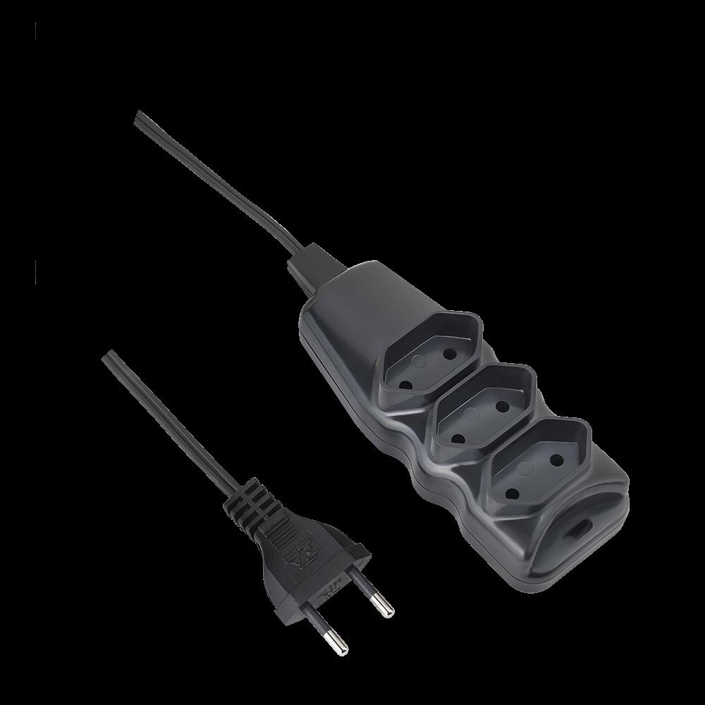 Extensão Elétrica Elgin 3 Tomadas Bipolar 10M