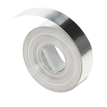 Fita Dymo em Alumínio 35800 adesiva p/ Rotulador M1011