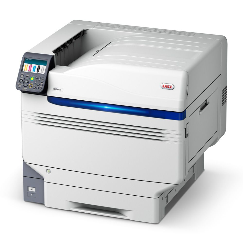 OKI C942 Super A3 Color/Toner branco Impressora Led