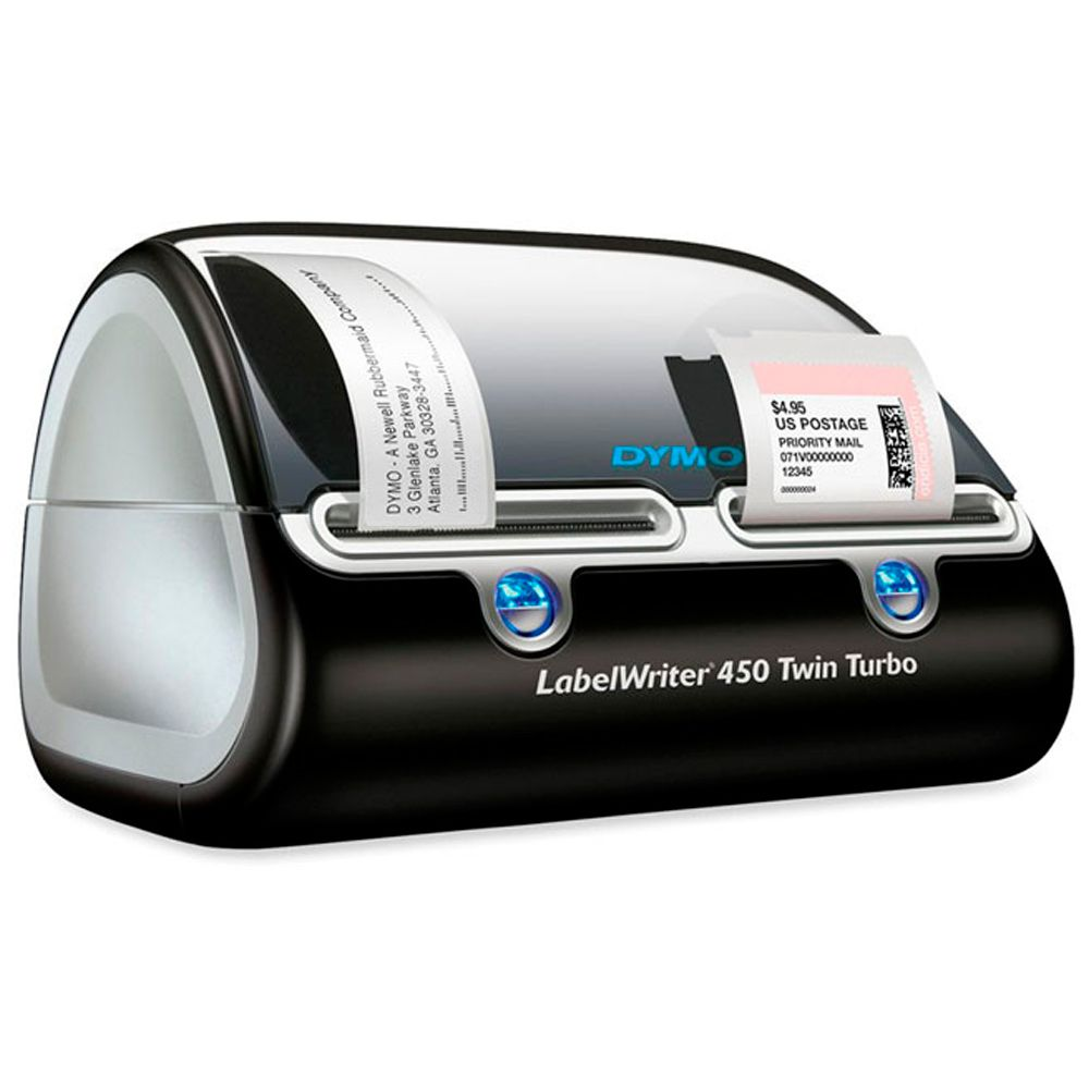 Impressora de Etiquetas Dymo LabelWriter 450 Twin Turbo