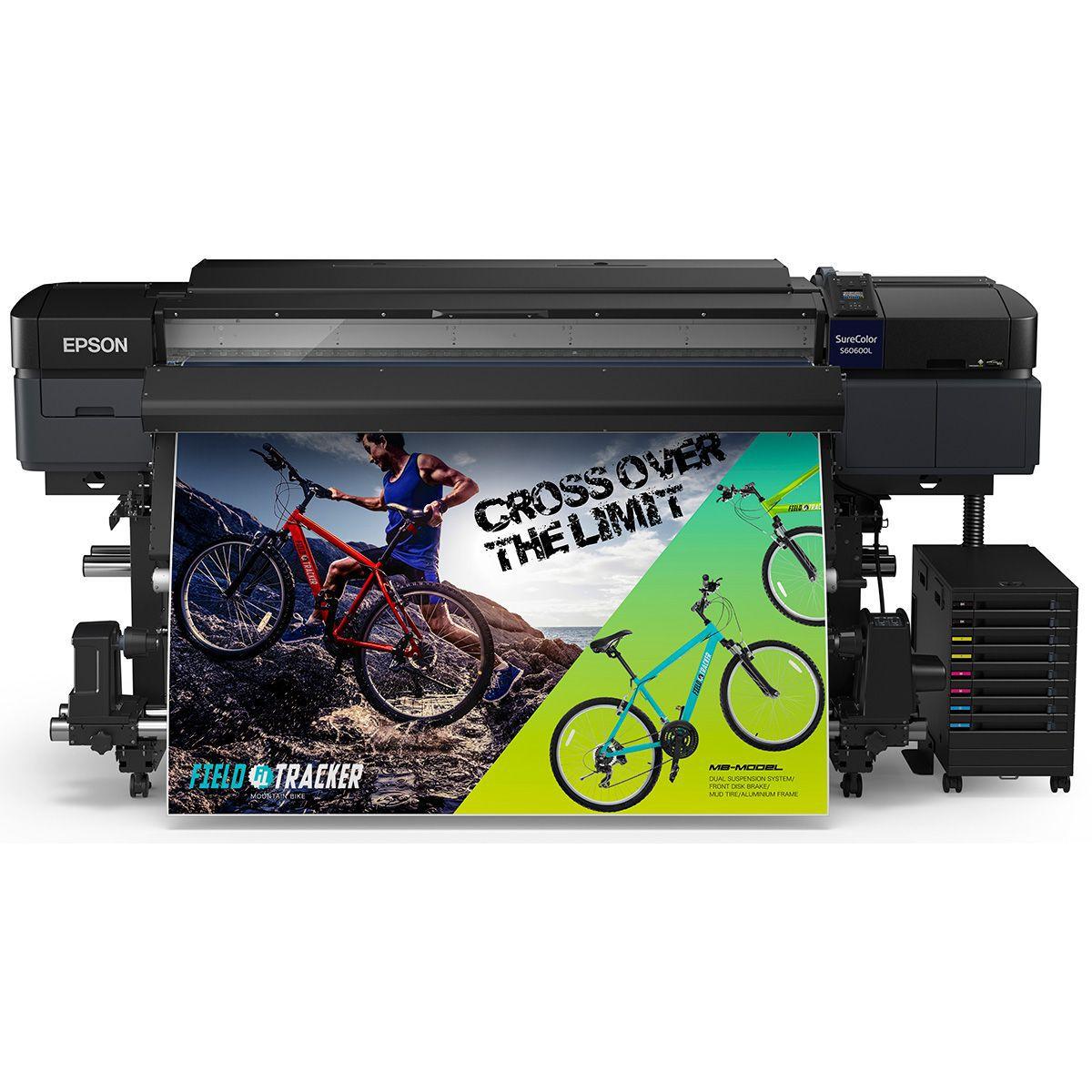 Impressora Ecosolvente Epson S60L 162cm Para Adesivos e Lonas