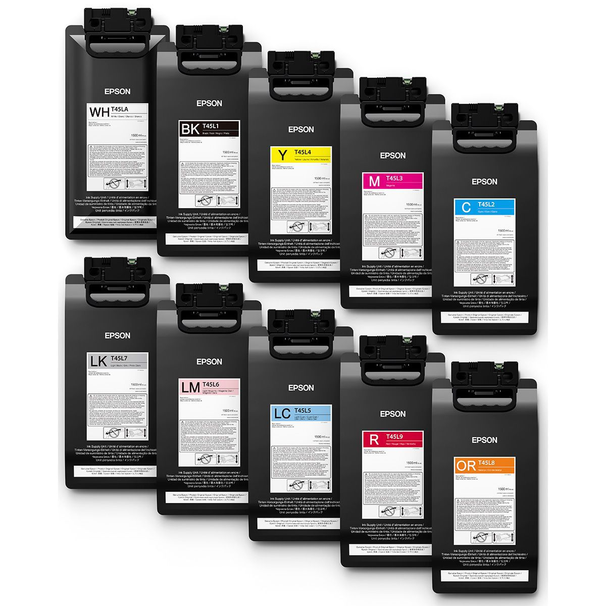 Impressora Ecosolvente Epson S80L 162cm Com Branco e Cores Metalizadas
