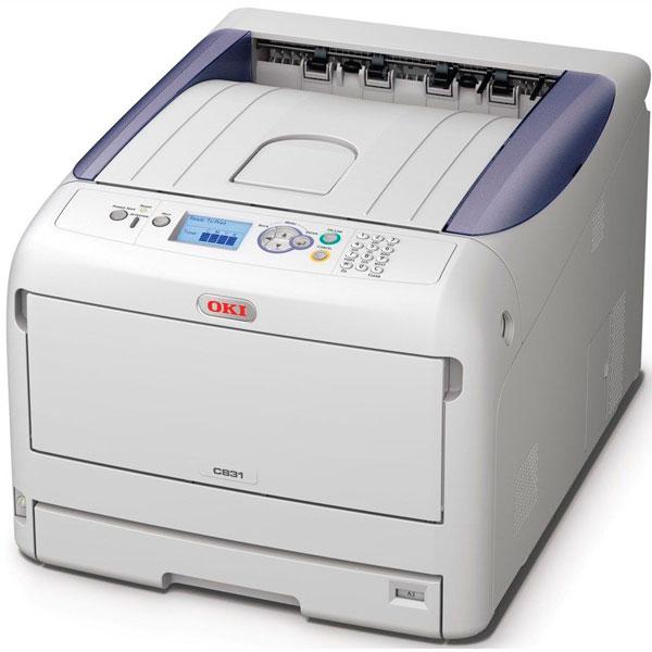 Impressora Led Color A3 Oki C831