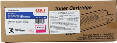 Kit de Toner da Impressora Laser Colorida Okidata ES6405