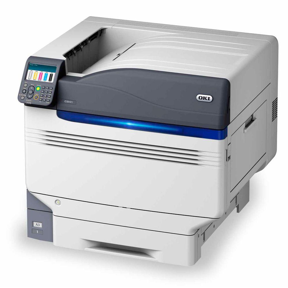 OKI C941 Super A3 Color/Toner Branco Impressora Led