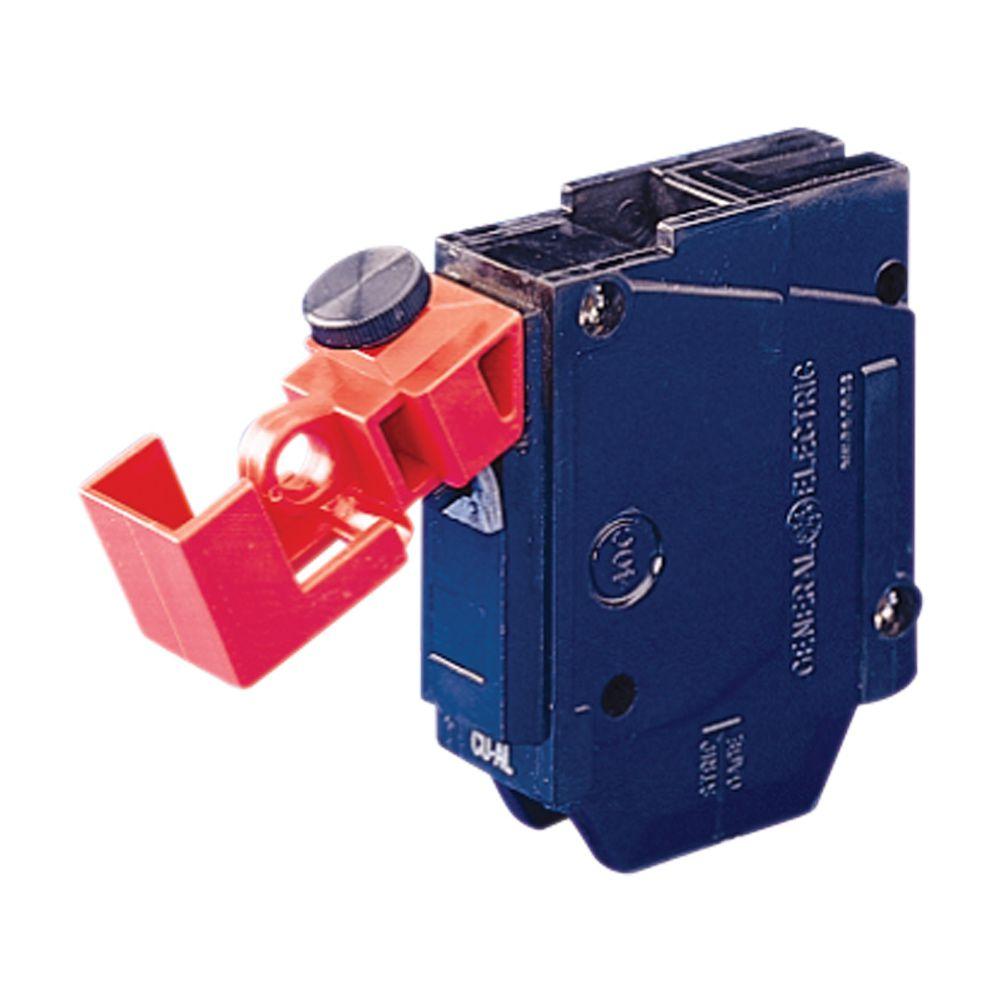 Kit 15x Bloqueio Disjuntor Monopolar Brady 120/277v Universal 65965