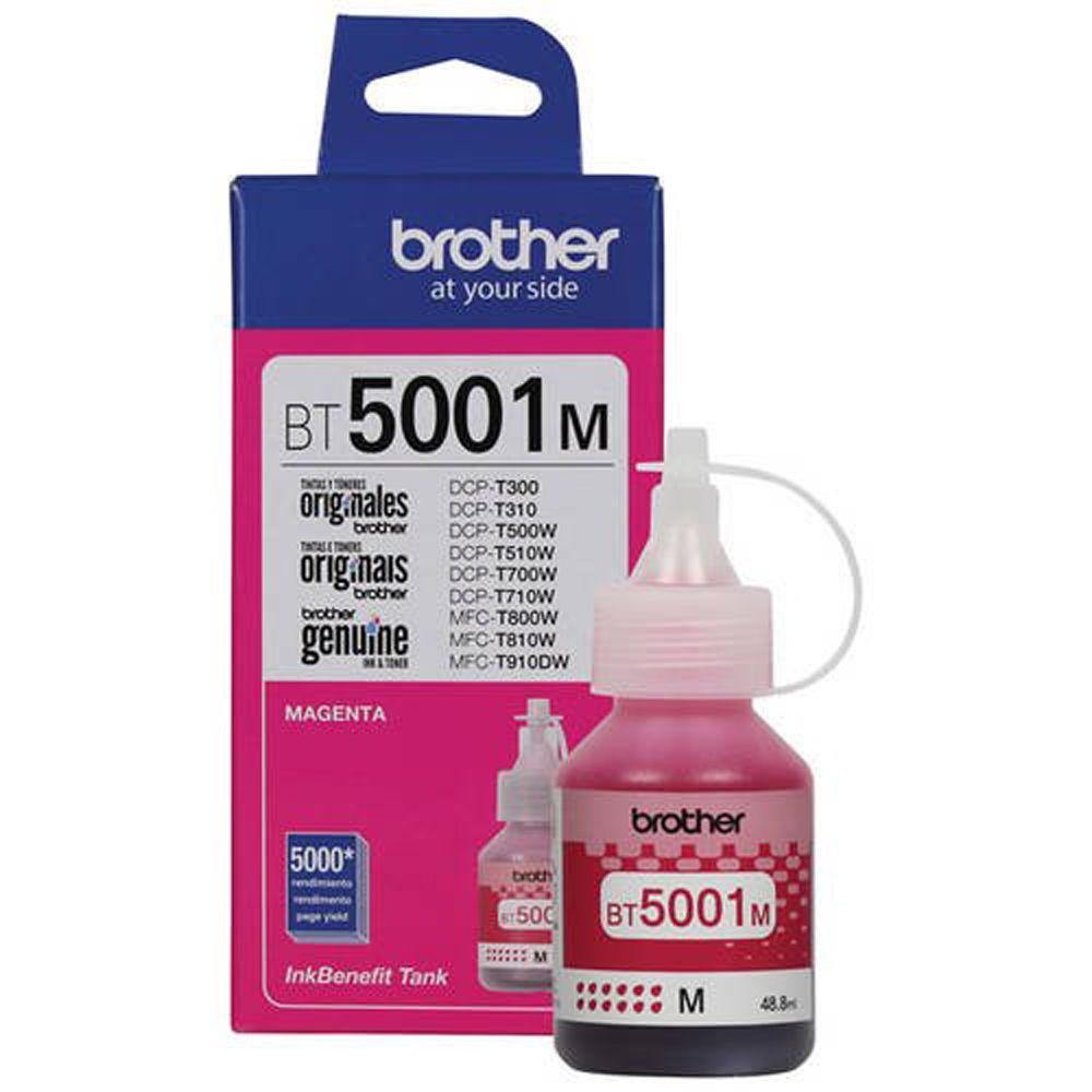 Kit Refil 4 cores Brother Inktank T310 T510 T710 T810 T4000 T4500