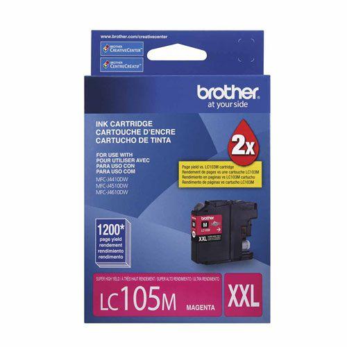 Kit Cartucho Brother LC-105/109 para MFCJ6520DW e MFCJ6720DW