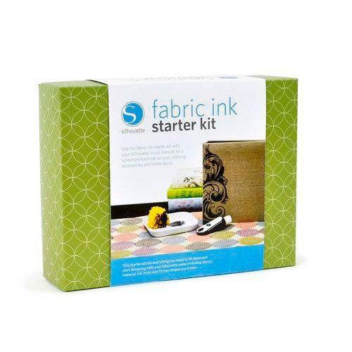 Kit Inicial de Tintas Para Tecidos Silhouette