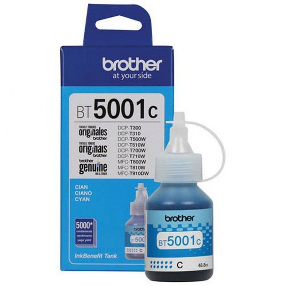 Kit Refil 4 cores Brother Inktank T300 T500 T700