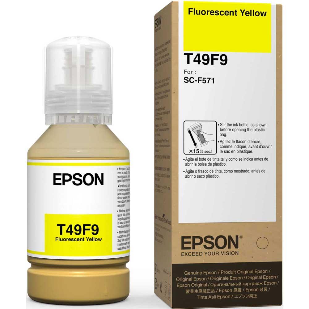 Kit Tinta para F571 4 refis T49 Fluor